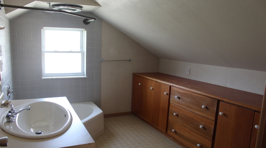 bath with cabinetry
